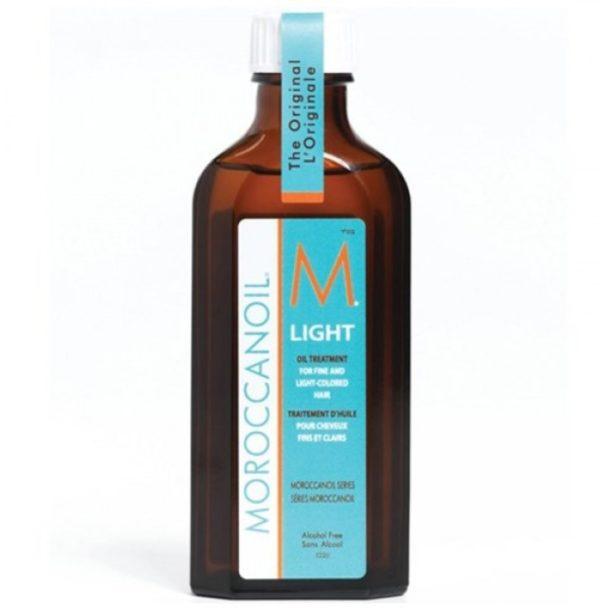 Масло LIGHT 100 мл восстанавливающее для для тонких, светлых волос Moroccanoil