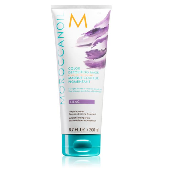 Тонирующая маска Lilac 200 мл Moroccanoil